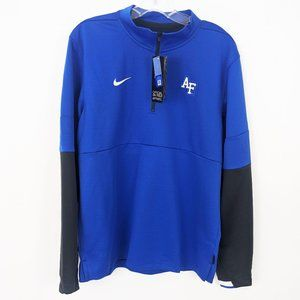 Nike Air Force Academy Quarter Zip Pullover NWT M
